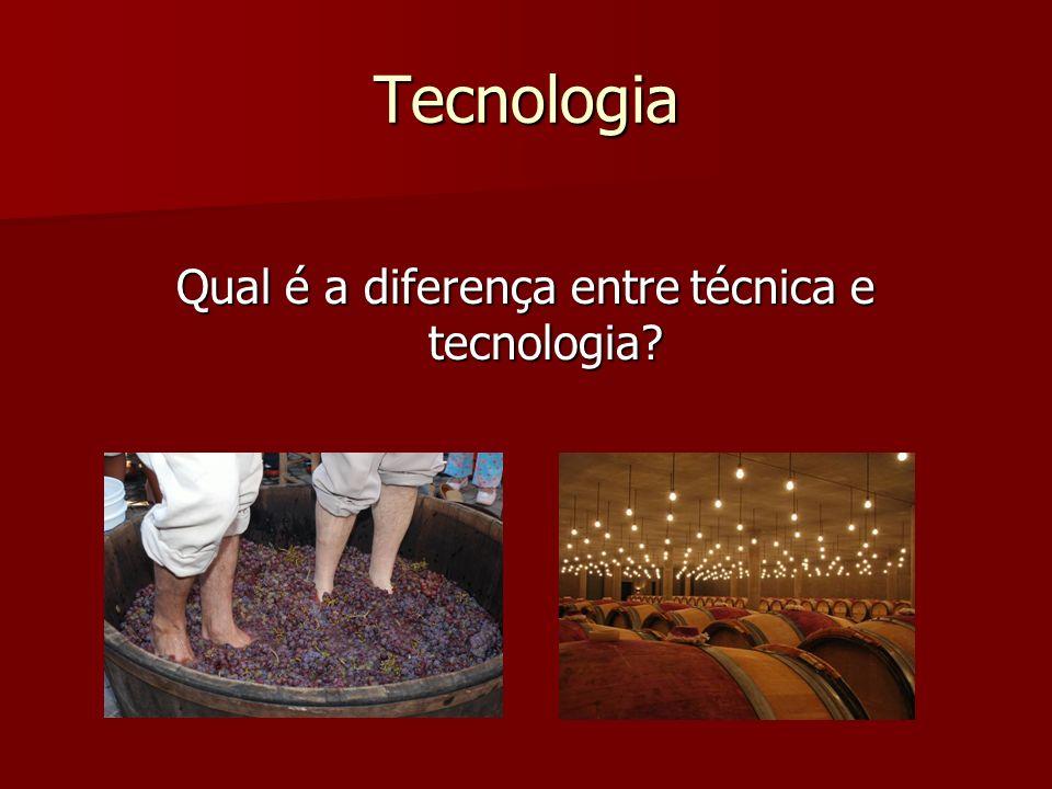 Qual é a diferença entre técnica e tecnologia