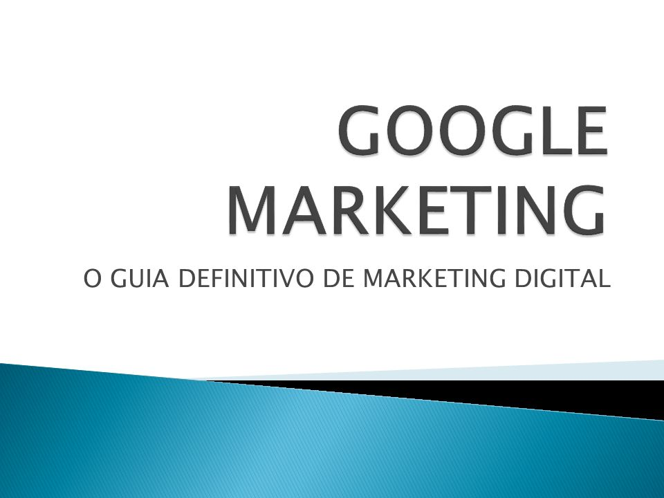 O GUIA DEFINITIVO DE MARKETING DIGITAL