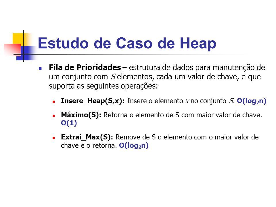 Estudo de Caso de Heap