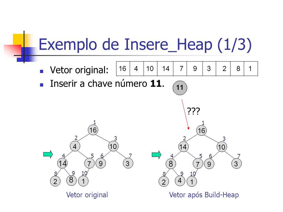 Exemplo de Insere_Heap (1/3)