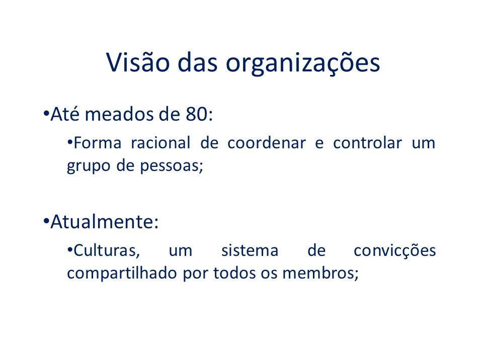 Visão das organizações