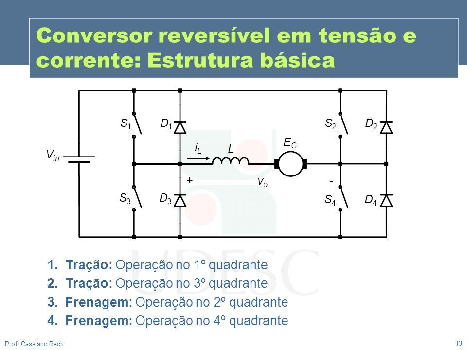 Conversor reversível em tensão e corrente: Estrutura básica