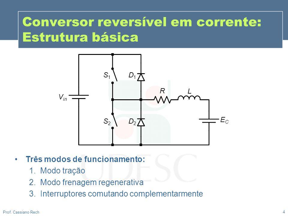 Conversor reversível em corrente: Estrutura básica