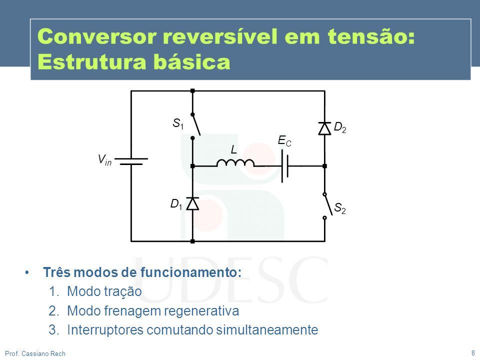 Conversor reversível em tensão: Estrutura básica
