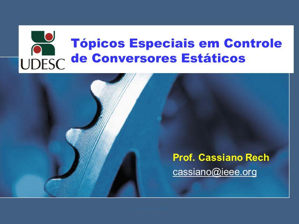 Tópicos Especiais em Controle de Conversores Estáticos