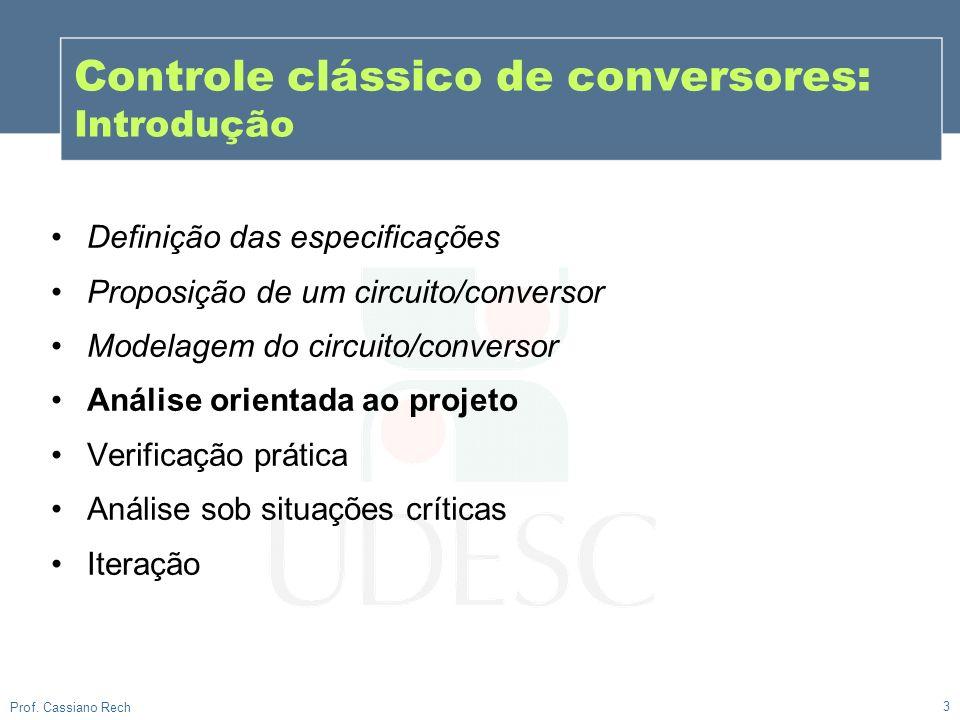 Controle clássico de conversores: Introdução