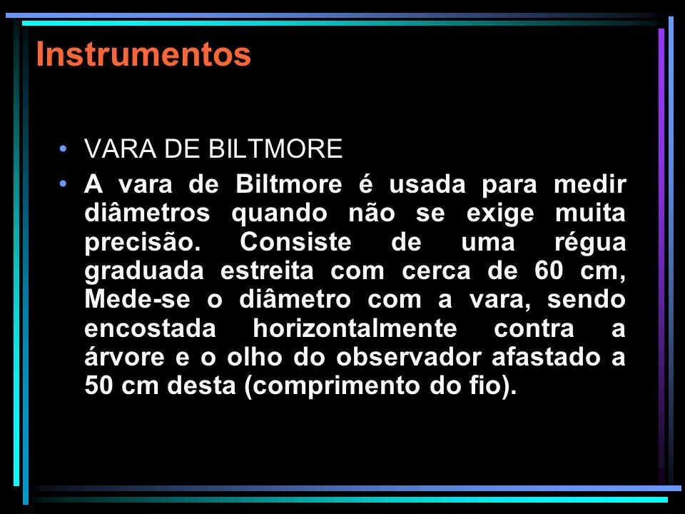 Instrumentos VARA DE BILTMORE