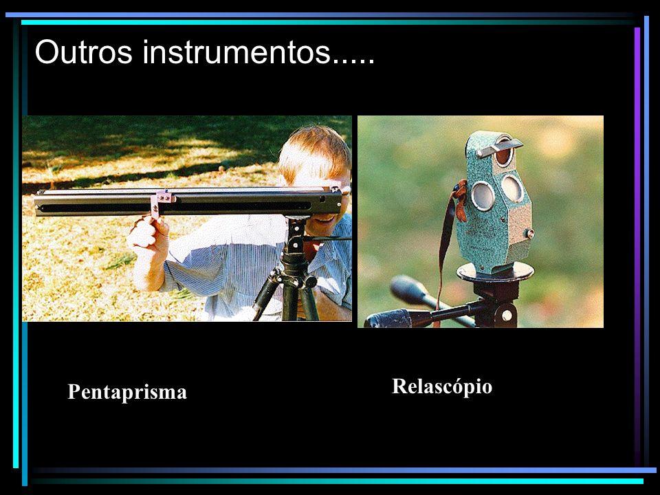 Outros instrumentos..... Relascópio Pentaprisma