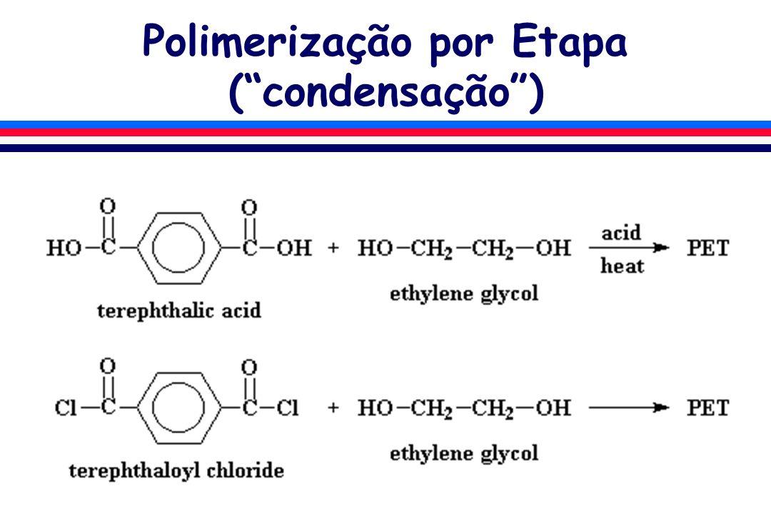 Polimerização por Etapa ( condensação )