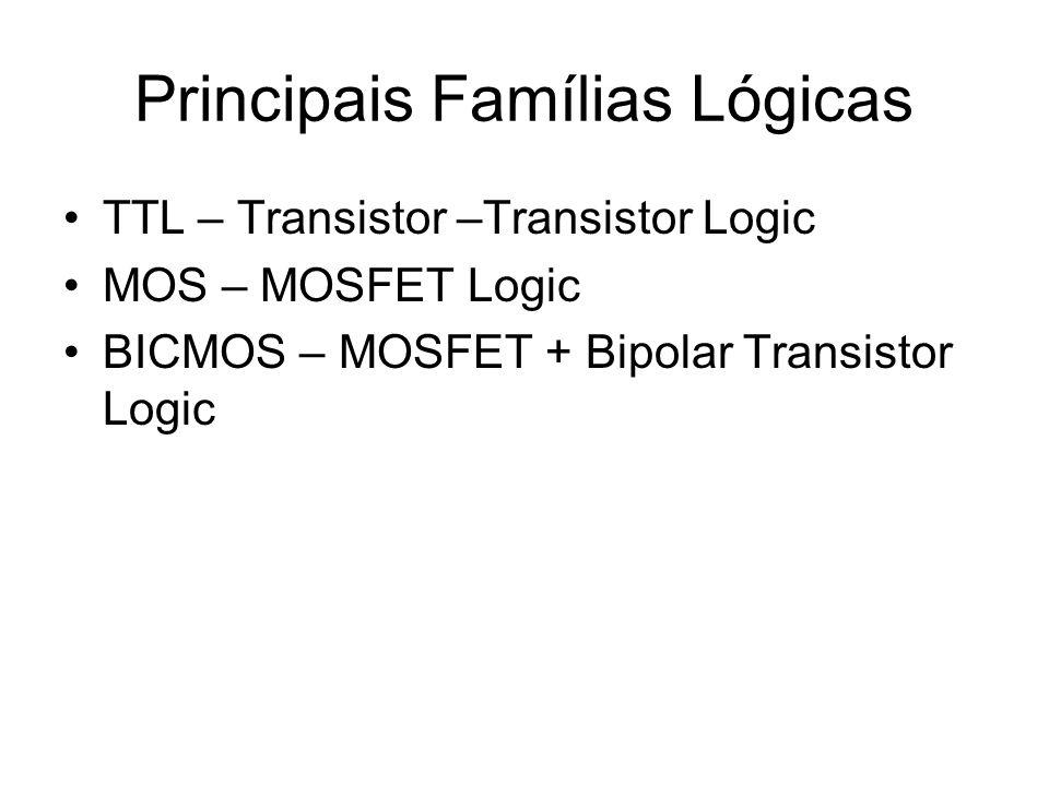 Principais Famílias Lógicas