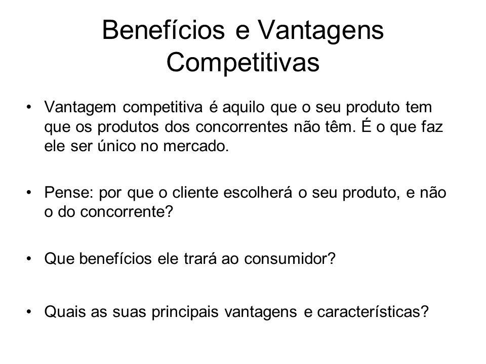 Benefícios e Vantagens Competitivas