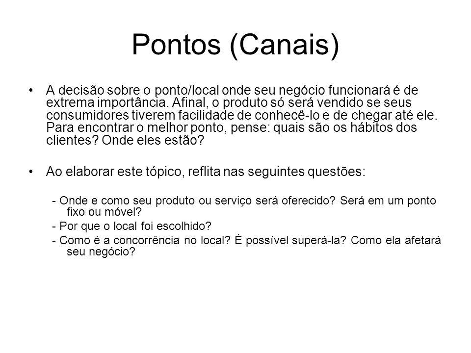 Pontos (Canais)