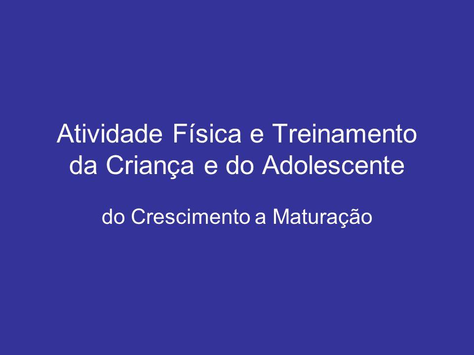 Atividade Física e Treinamento da Criança e do Adolescente