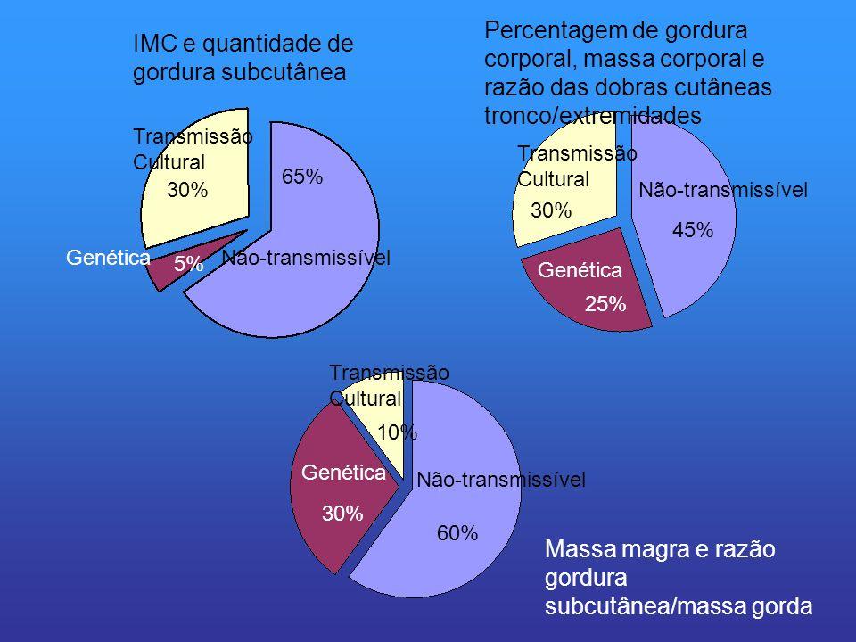 IMC e quantidade de gordura subcutânea