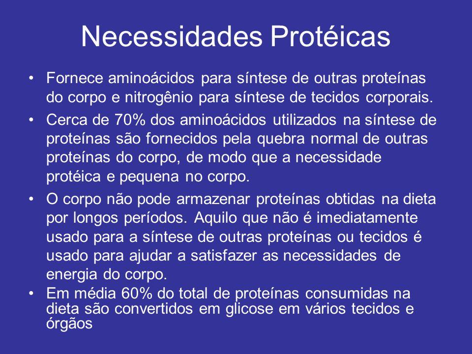 Necessidades Protéicas