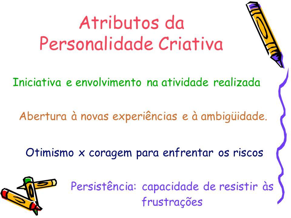 Atributos da Personalidade Criativa