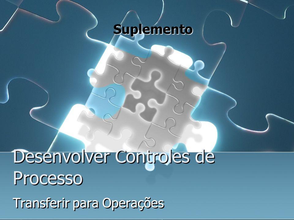 Desenvolver Controles de Processo