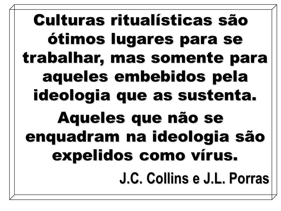Aqueles que não se enquadram na ideologia são expelidos como vírus.