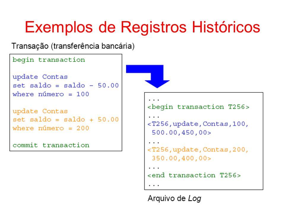 Exemplos de Registros Históricos