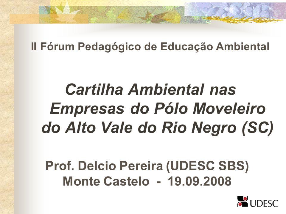 II Fórum Pedagógico de Educação Ambiental