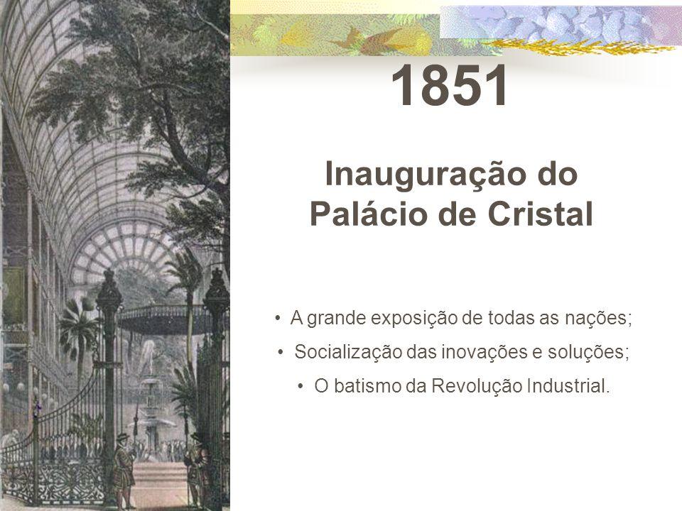 Inauguração do Palácio de Cristal