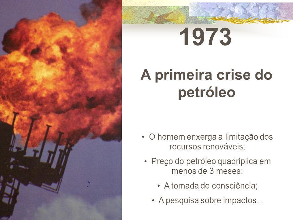 A primeira crise do petróleo