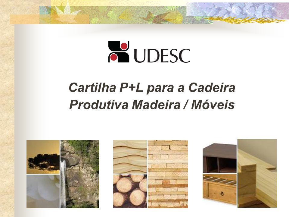 Cartilha P+L para a Cadeira Produtiva Madeira / Móveis