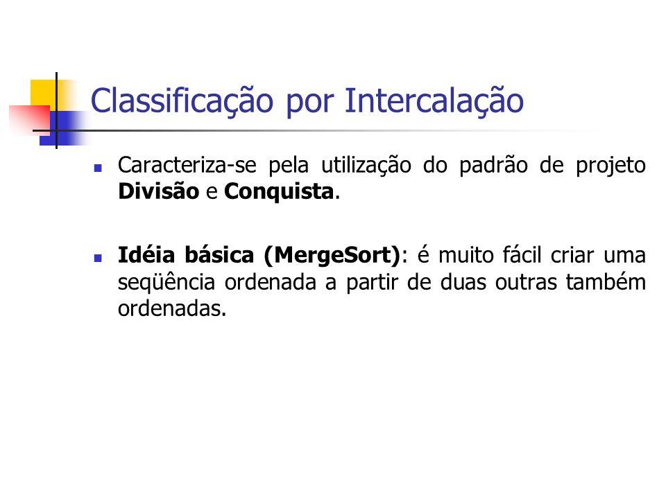 Classificação por Intercalação