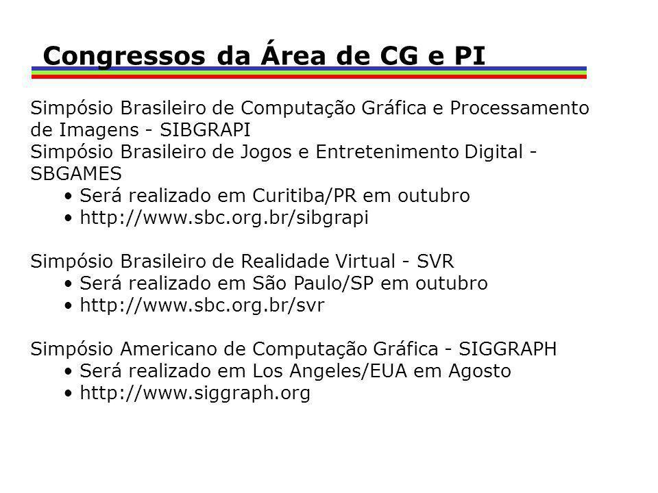 Congressos da Área de CG e PI