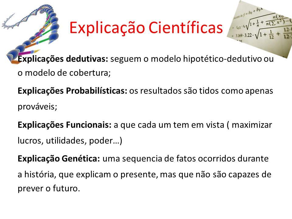 Explicação Científicas