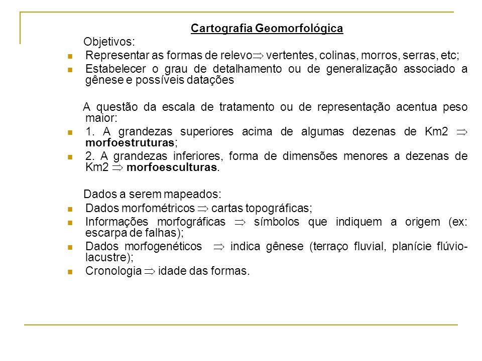 Cartografia Geomorfológica
