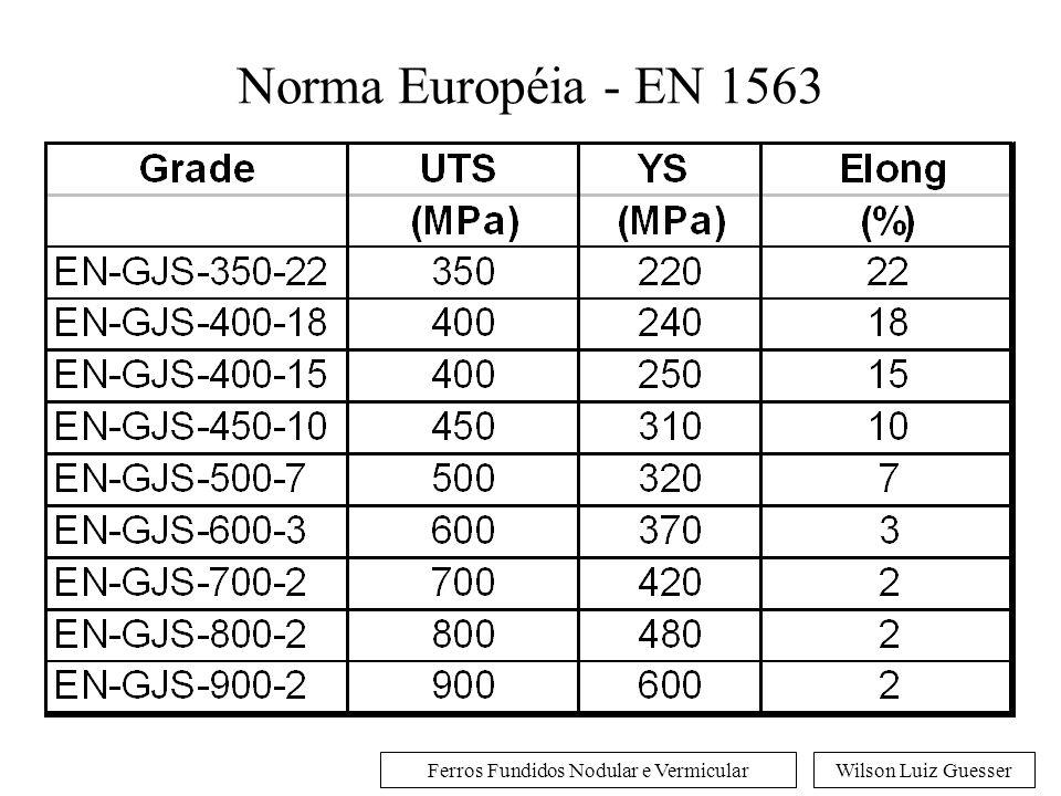 Norma Européia - EN 1563