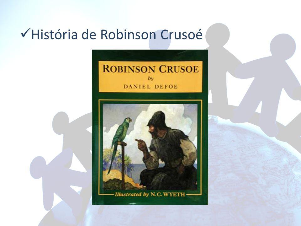 História de Robinson Crusoé