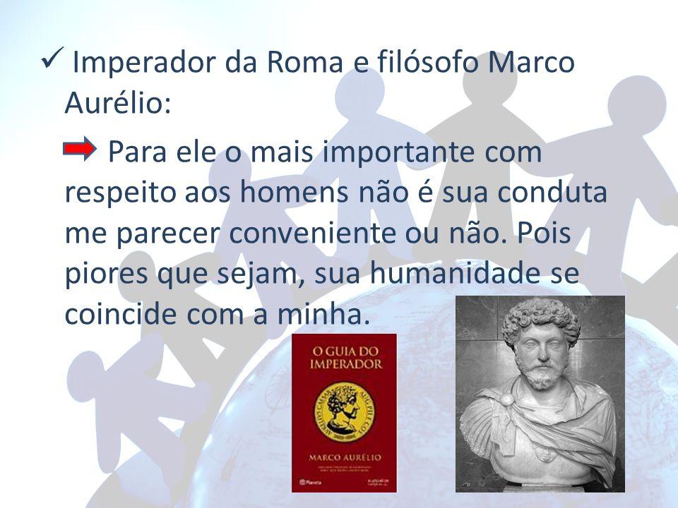 Imperador da Roma e filósofo Marco Aurélio:
