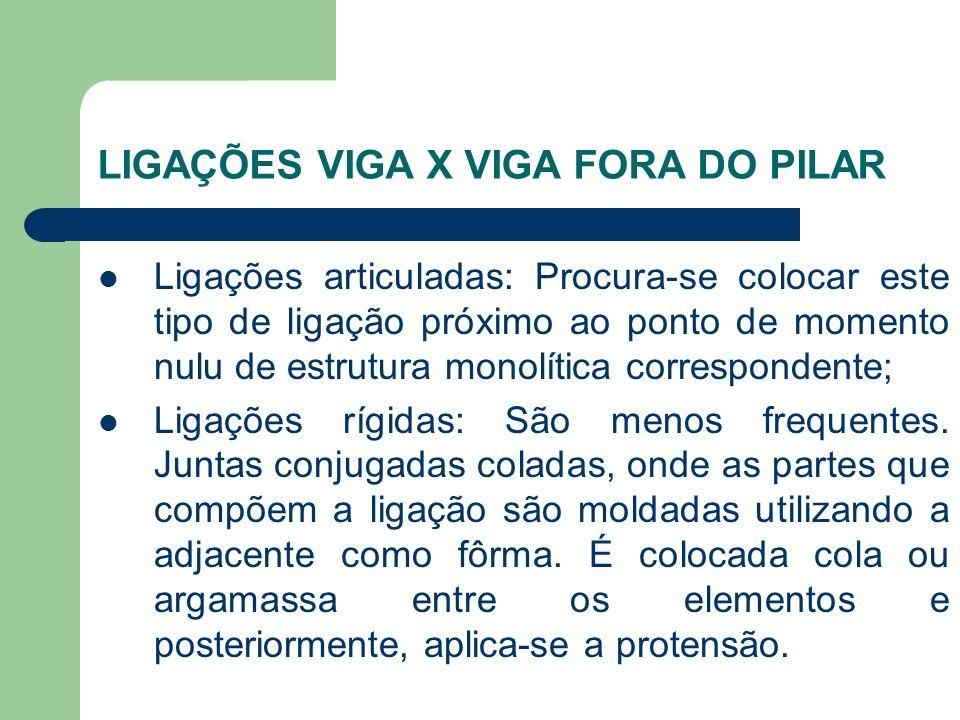 LIGAÇÕES VIGA X VIGA FORA DO PILAR