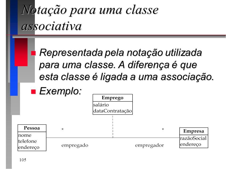 Notação para uma classe associativa