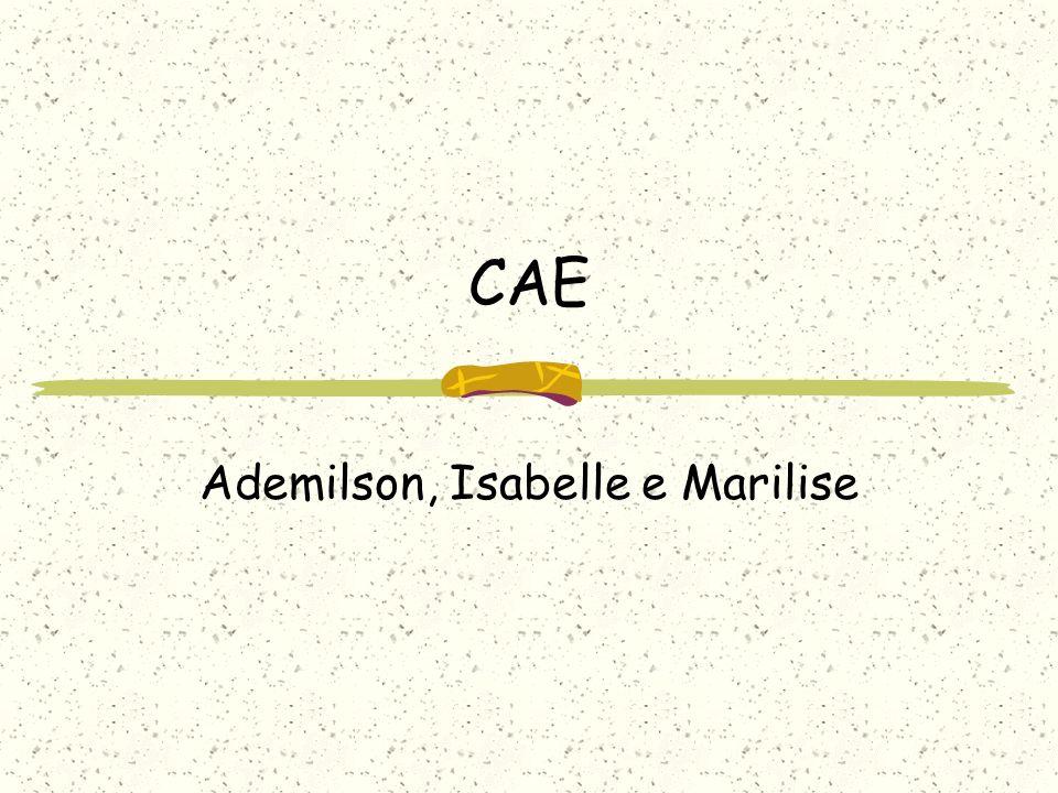Ademilson, Isabelle e Marilise