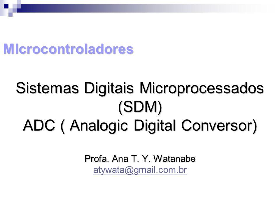 Sistemas Digitais Microprocessados (SDM)