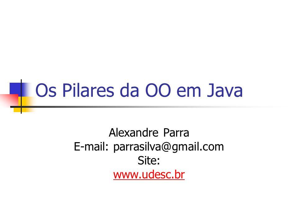 Alexandre Parra E-mail: parrasilva@gmail.com Site: www.udesc.br
