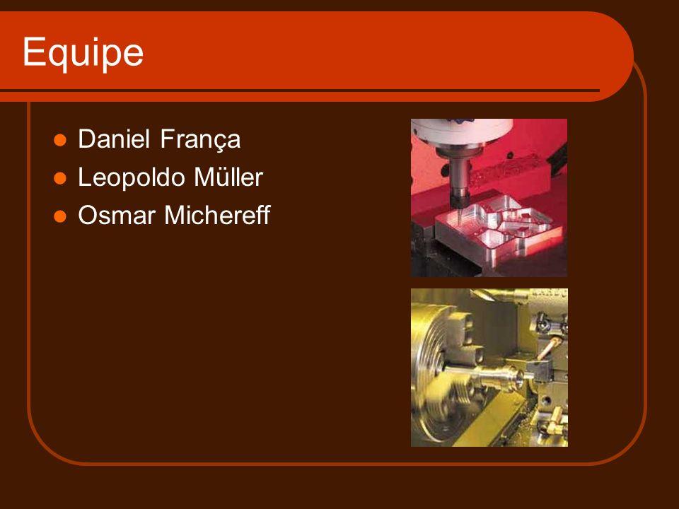 Equipe Daniel França Leopoldo Müller Osmar Michereff