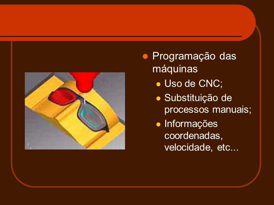 Programação das máquinas