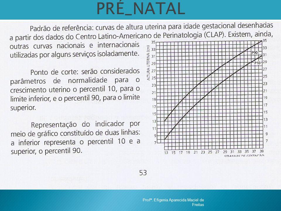 PRÉ_NATAL Profª. Efigenia Aparecida Maciel de Freitas