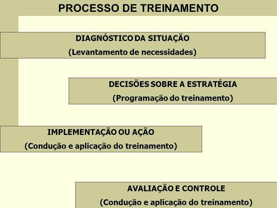 PROCESSO DE TREINAMENTO