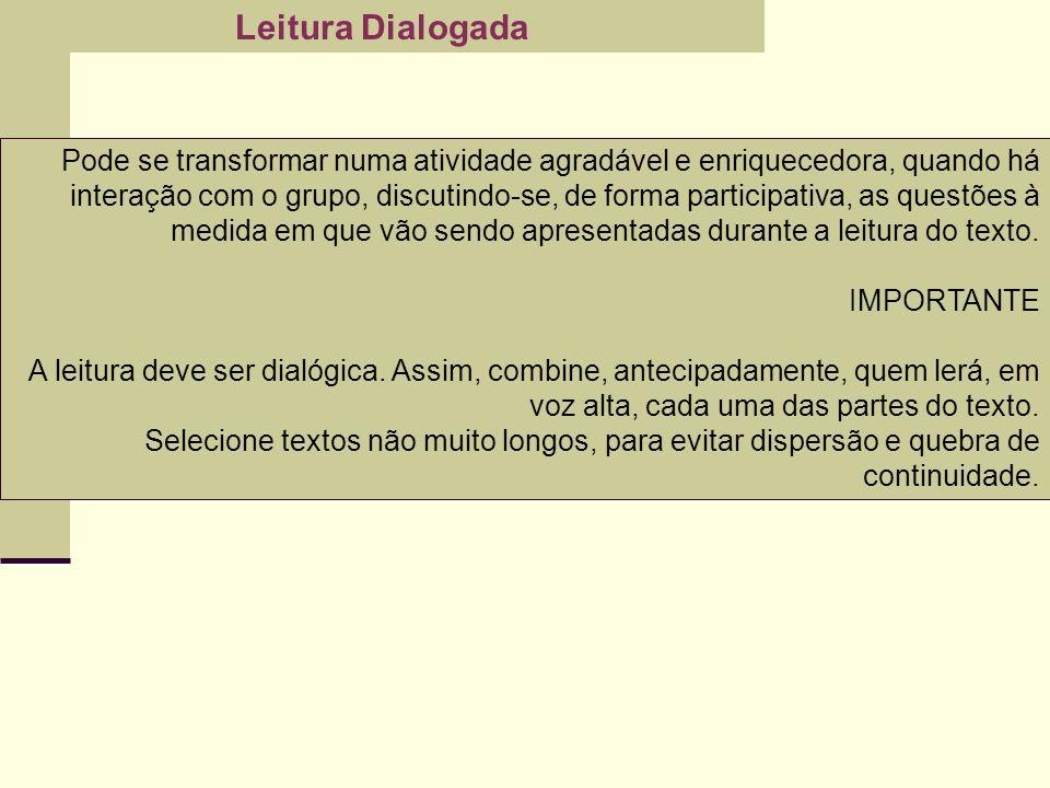 Leitura Dialogada