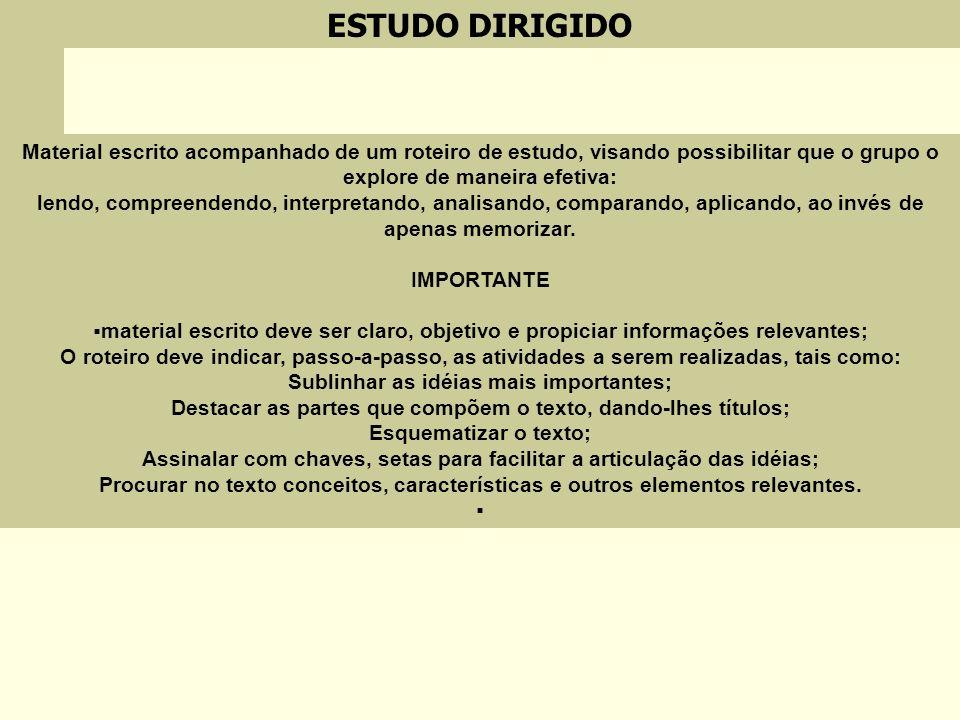 ESTUDO DIRIGIDO