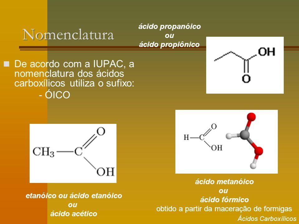 etanóico ou ácido etanóico