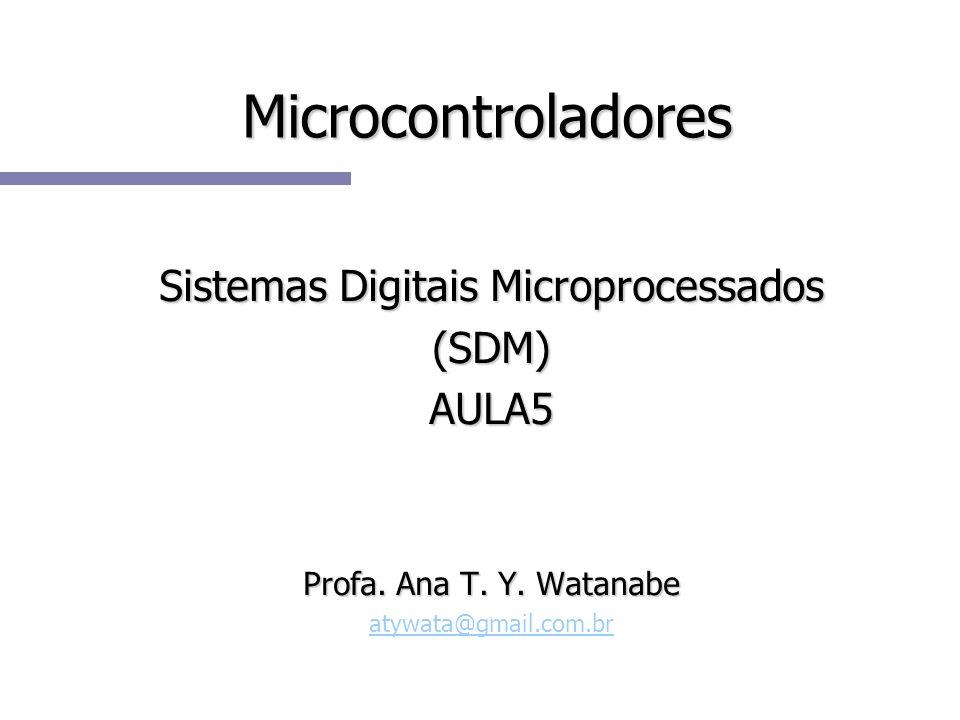 Sistemas Digitais Microprocessados