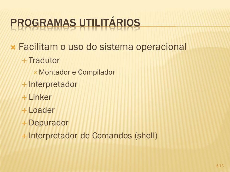 Programas Utilitários