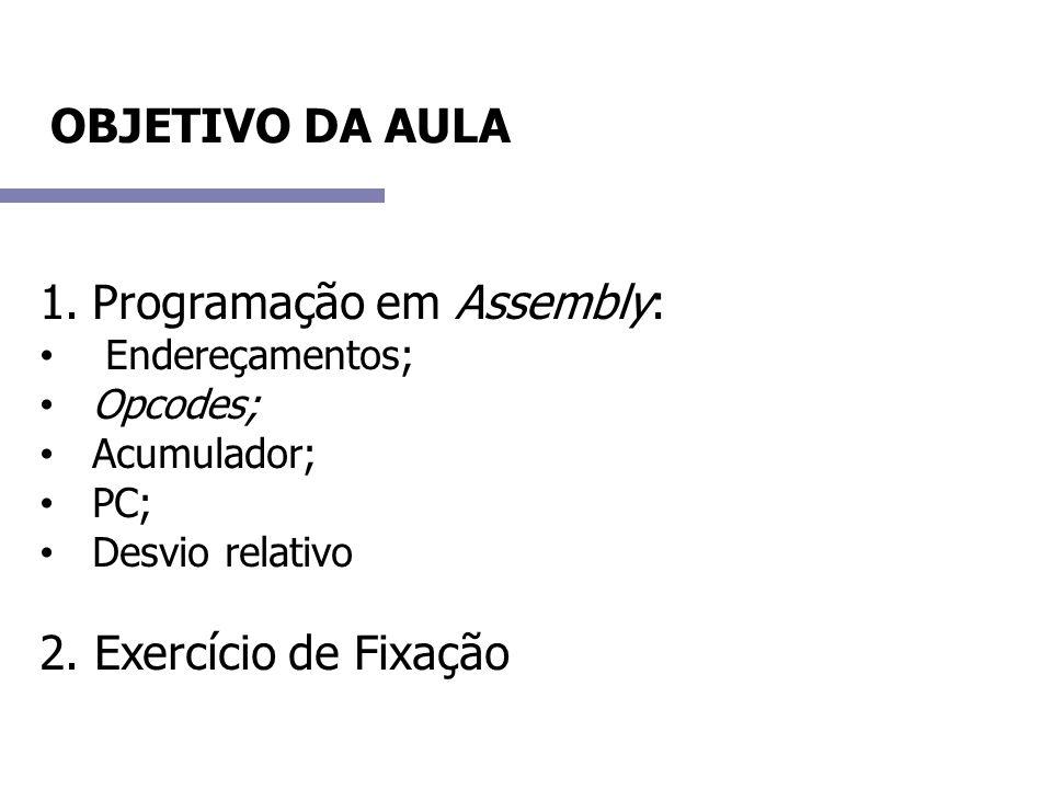 Programação em Assembly: