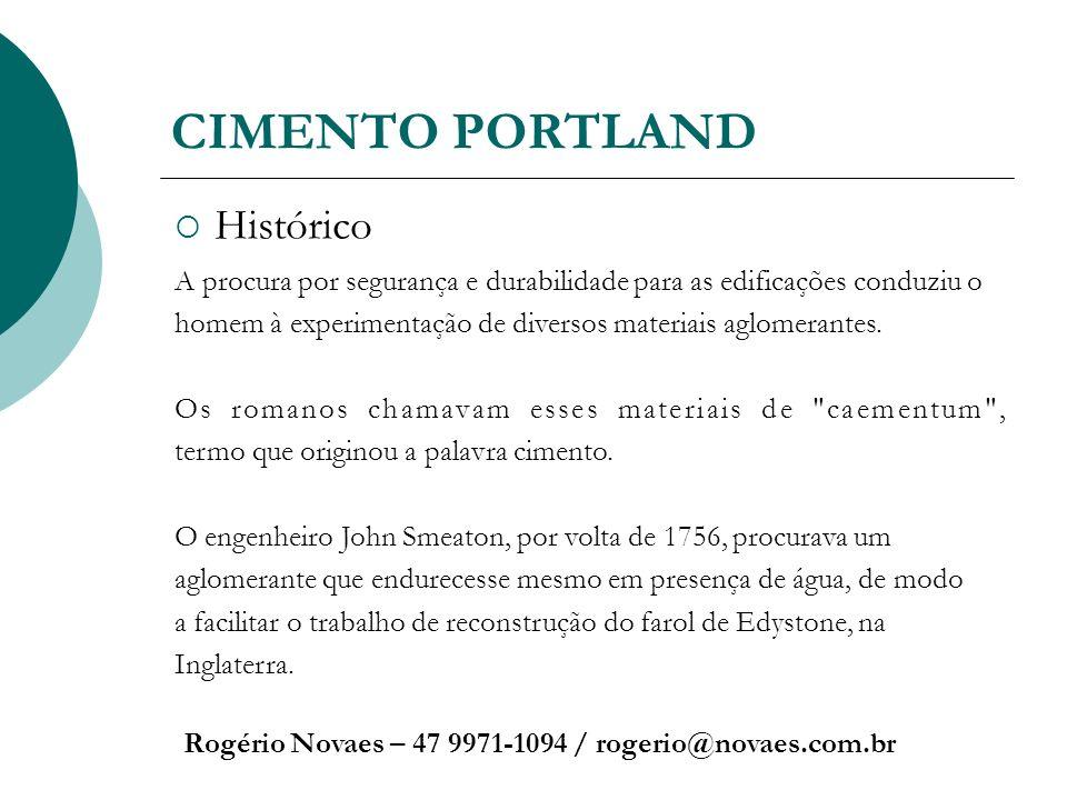 CIMENTO PORTLAND Histórico